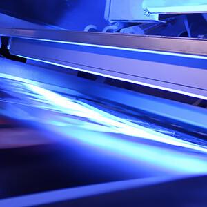 UV LED الطباعة